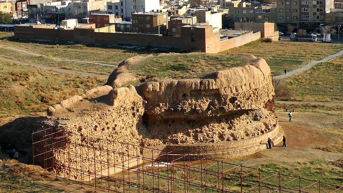 مجموعه باستانی ربع رشیدی (قلعه تبریز)