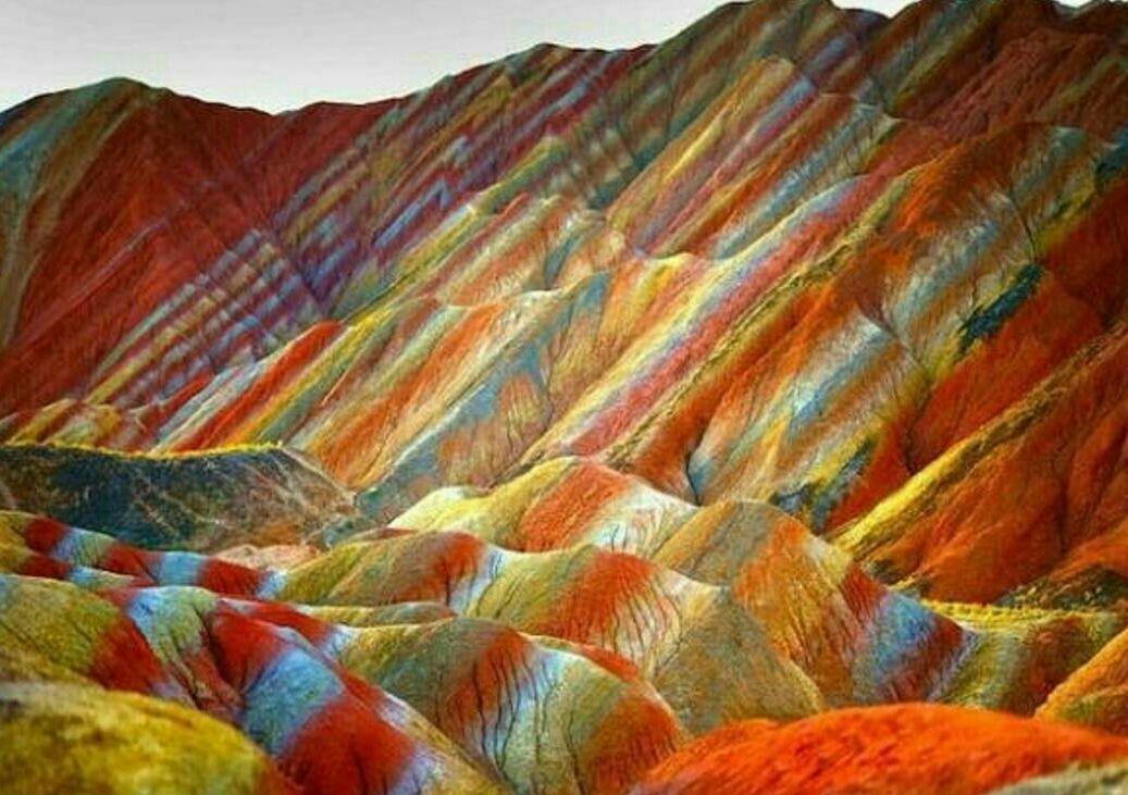 کوههای رنگی آلاداغلار