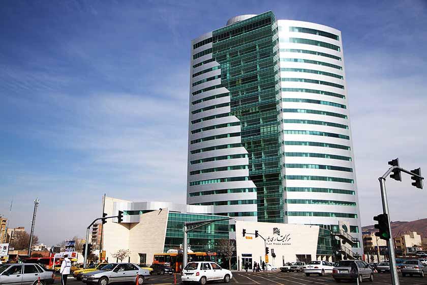 مرکز خرید برج بلور