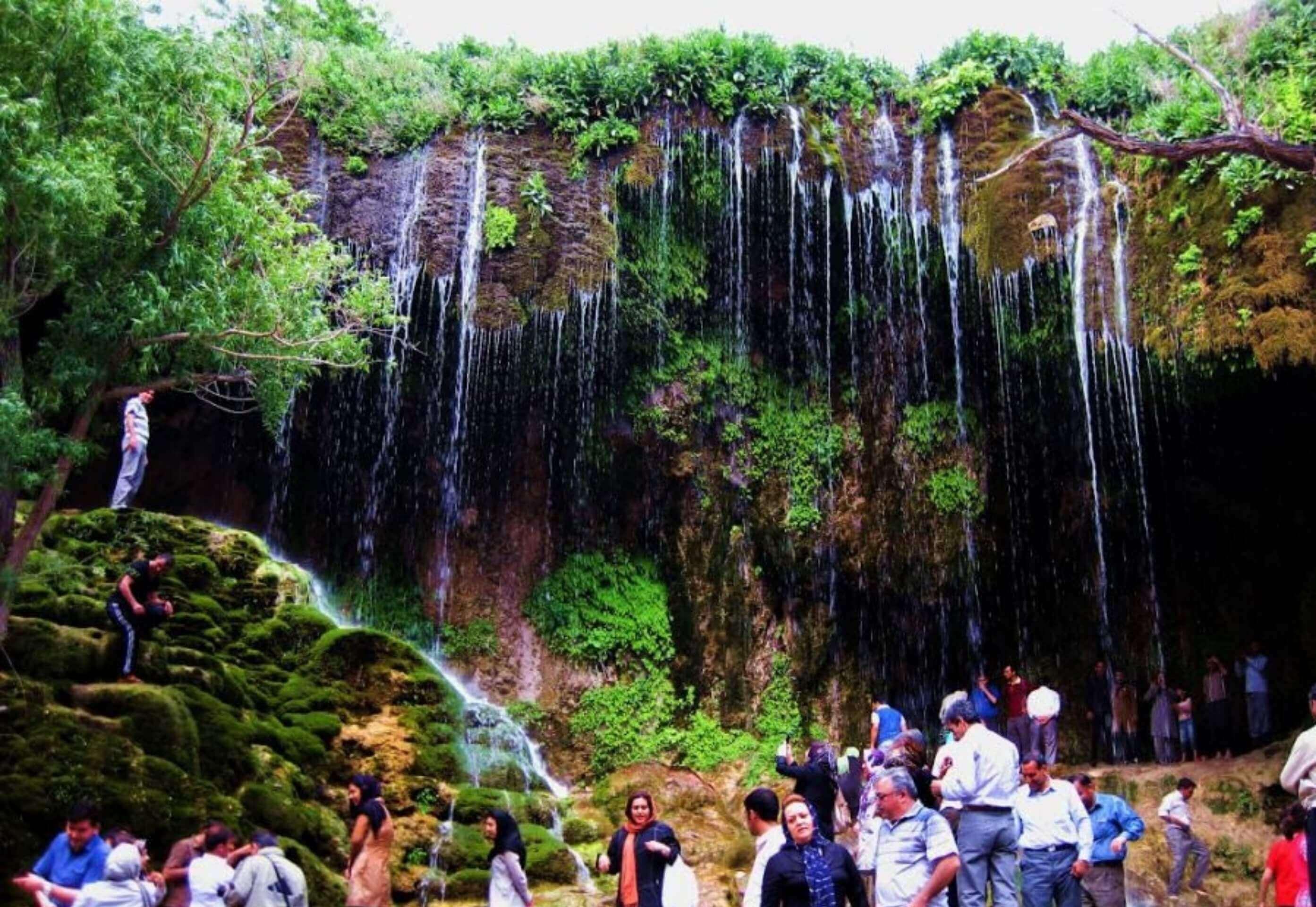 آبشار آسیاب خرابه (جلفا)