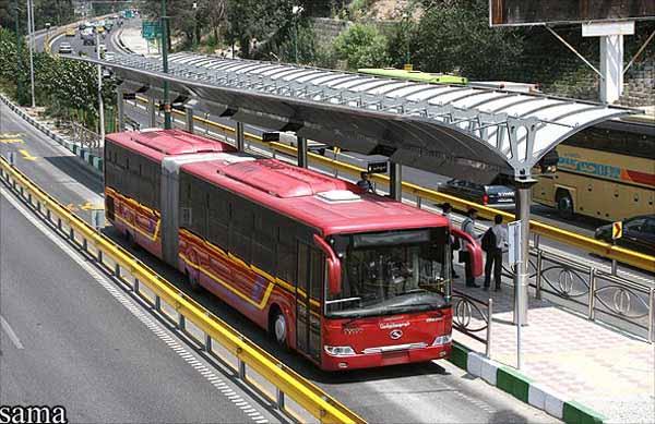 اتوبوسهای BRT سراسری تبریز