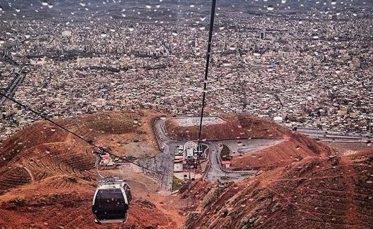 تفرجگاه کوهستانی عینالی