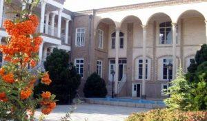 حیاط خانه بلورچیان
