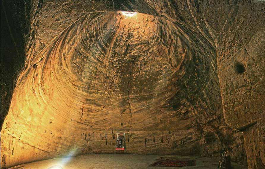 معبد باستانی قدمگاه (آذرشهر)